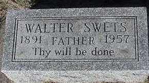 SWETS, WALTER - Sioux County, Iowa | WALTER SWETS