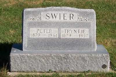 SWIER, PETER - Sioux County, Iowa   PETER SWIER