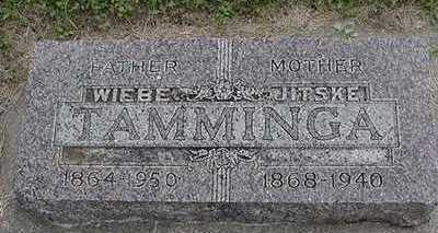 TAMMINGA, JITSKE - Sioux County, Iowa | JITSKE TAMMINGA