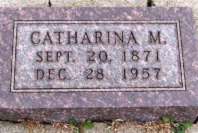 TANK, CATHARINA M. - Sioux County, Iowa | CATHARINA M. TANK