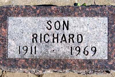 TANK, RICHARD - Sioux County, Iowa | RICHARD TANK