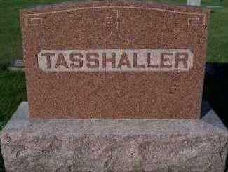 TASSHALLER, HEADSTONE - Sioux County, Iowa | HEADSTONE TASSHALLER