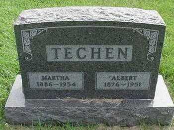 TECHEN, MARTHA (MRS. ALBERT) - Sioux County, Iowa | MARTHA (MRS. ALBERT) TECHEN