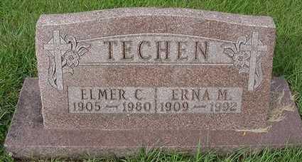 TECHEN, ERNA (MRS. ELMER) - Sioux County, Iowa | ERNA (MRS. ELMER) TECHEN