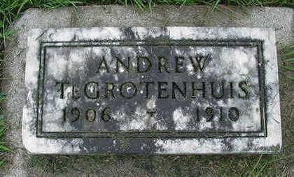 TEGROTENHUIS, ANDREW - Sioux County, Iowa | ANDREW TEGROTENHUIS