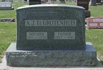 TEGROTENHUIS, A. J. - Sioux County, Iowa   A. J. TEGROTENHUIS
