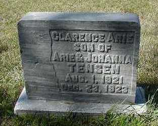 TENSEN, CLARENCE ARIE - Sioux County, Iowa | CLARENCE ARIE TENSEN