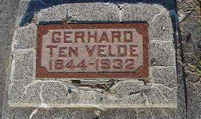 TENVELDE, GERHARD - Sioux County, Iowa   GERHARD TENVELDE