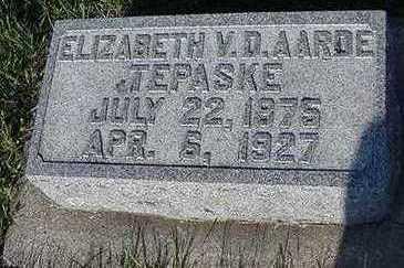 TEPASKE, ELIZABETH - Sioux County, Iowa | ELIZABETH TEPASKE