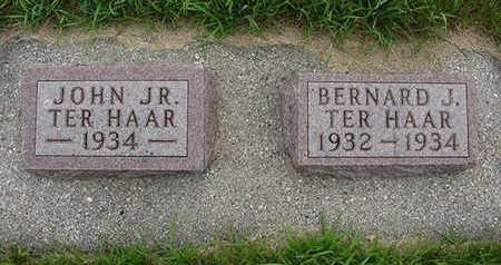 TERHAAR, BERNARD J. - Sioux County, Iowa | BERNARD J. TERHAAR