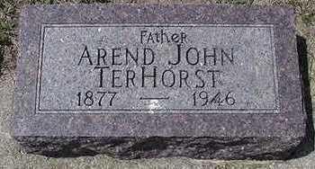 TERHORST, AREND JOHN - Sioux County, Iowa   AREND JOHN TERHORST