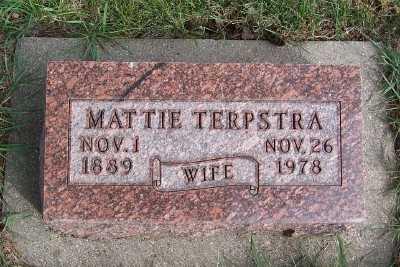 TERPSTRA, MATTIE - Sioux County, Iowa | MATTIE TERPSTRA