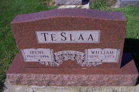 TESLAA, WILLIAM - Sioux County, Iowa | WILLIAM TESLAA