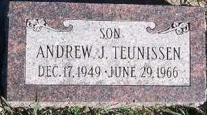 TEUNISSEN, ANDREW J. - Sioux County, Iowa | ANDREW J. TEUNISSEN
