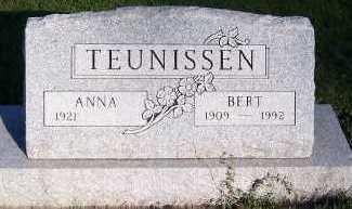 TEUNISSEN, BERT - Sioux County, Iowa | BERT TEUNISSEN