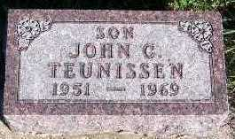 TEUNISSEN, JOHN C. - Sioux County, Iowa | JOHN C. TEUNISSEN