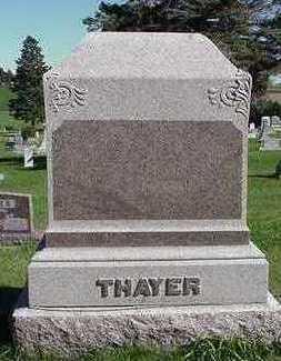 THAYER, HEASTONE - Sioux County, Iowa | HEASTONE THAYER