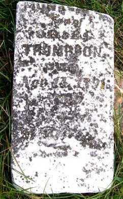 THOMPSON, MONTE W. (SON OF O.D. & E.C.) - Sioux County, Iowa   MONTE W. (SON OF O.D. & E.C.) THOMPSON