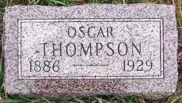 THOMPSON, OSCAR - Sioux County, Iowa | OSCAR THOMPSON