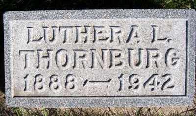 THORNBURG, LUTHERA L. - Sioux County, Iowa | LUTHERA L. THORNBURG