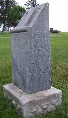 THORNTON, DELIA - Sioux County, Iowa   DELIA THORNTON