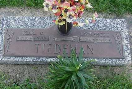 TIEDEMAN, LAWRENCE F. - Sioux County, Iowa | LAWRENCE F. TIEDEMAN