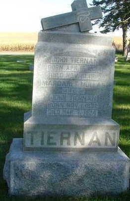 TIERNAN, MARGARET - Sioux County, Iowa | MARGARET TIERNAN