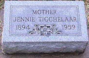 TIGCHELAAR, JENNIE - Sioux County, Iowa | JENNIE TIGCHELAAR