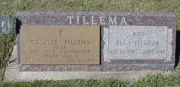 TILLEMA, CHARLES - Sioux County, Iowa | CHARLES TILLEMA