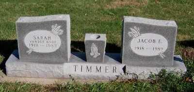 TIMMER, JACOB E. - Sioux County, Iowa | JACOB E. TIMMER