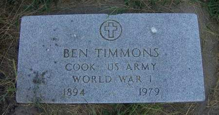 TIMMONS, BEN - Sioux County, Iowa | BEN TIMMONS