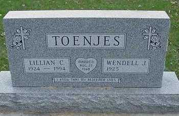 TOENJES, LILLIAN G. - Sioux County, Iowa | LILLIAN G. TOENJES