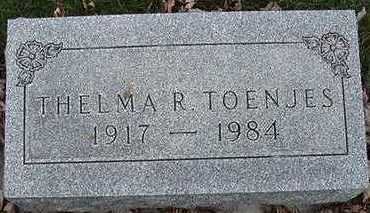 TOENJES, THELMA R. - Sioux County, Iowa | THELMA R. TOENJES