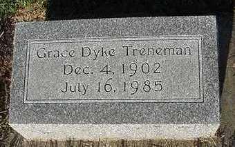 TRENEMAN, GRACE (MRS. JAMES) - Sioux County, Iowa | GRACE (MRS. JAMES) TRENEMAN