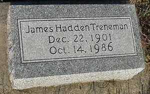 TRENEMAN, JAMES HADDEN - Sioux County, Iowa | JAMES HADDEN TRENEMAN