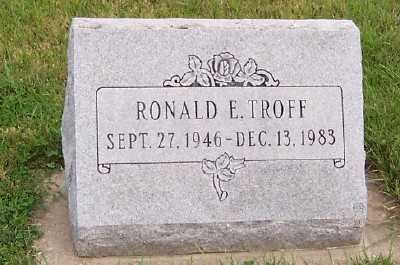 TROFF, RONALD E. - Sioux County, Iowa | RONALD E. TROFF