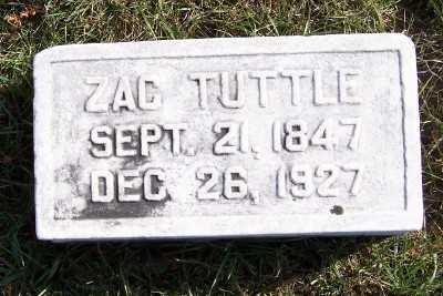 TUTTLE, ZAC - Sioux County, Iowa | ZAC TUTTLE