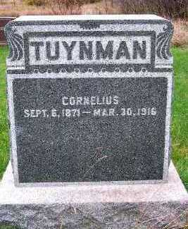 TUYNMAN, CORNELIUS - Sioux County, Iowa | CORNELIUS TUYNMAN