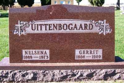 UITTENBOGAARD, GERRIT - Sioux County, Iowa | GERRIT UITTENBOGAARD