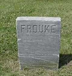 UNKNOWN, FROUKJE - Sioux County, Iowa | FROUKJE UNKNOWN