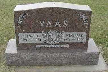 VAAS, WINIFRED - Sioux County, Iowa | WINIFRED VAAS