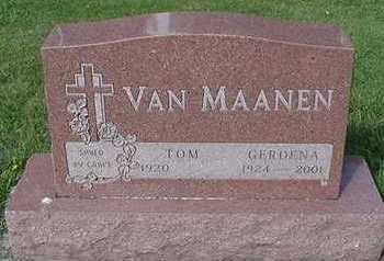 VAMMAANEN, TOM - Sioux County, Iowa   TOM VAMMAANEN