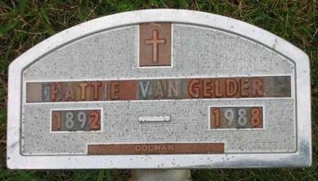 VANGELDER, HATTIE - Sioux County, Iowa | HATTIE VANGELDER