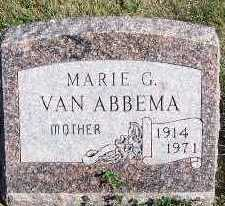 VANABBEMA, MARIE G. - Sioux County, Iowa | MARIE G. VANABBEMA