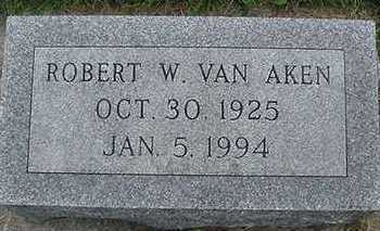 VANAKEN, ROBERT W. - Sioux County, Iowa | ROBERT W. VANAKEN