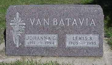 VANBATAVIA, JOHANNA G. - Sioux County, Iowa | JOHANNA G. VANBATAVIA