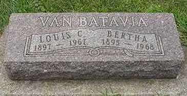 VANBATAVIA, BERTHA - Sioux County, Iowa | BERTHA VANBATAVIA