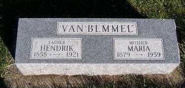 VANBEMMEL, HENDRIK - Sioux County, Iowa | HENDRIK VANBEMMEL