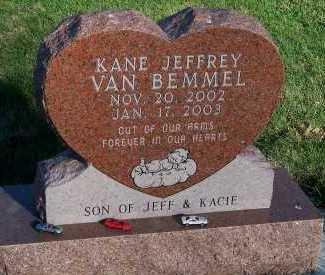 VANBEMMEL, KANE JEFFREY - Sioux County, Iowa   KANE JEFFREY VANBEMMEL