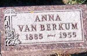 VANBERKUM, ANNA - Sioux County, Iowa | ANNA VANBERKUM